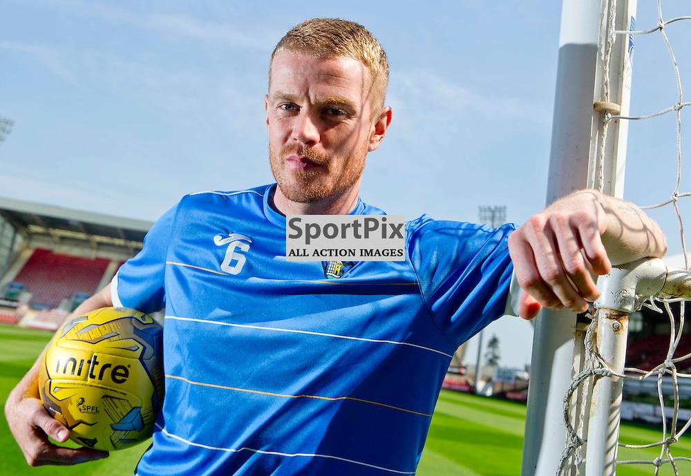 DAFC Presser East End Park 13 August 2015<br /> Andy Geggan<br /> (c) CRAIG BROWN   SportPix.org.uk