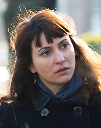 ©  London News Pictures. File picture dated 26/11/2013. London, UK. Italian Francesca Grillo, one of two sisters who are the former personal assistants to Charles Saatchi and Nigella  Lawson, arriving at Isleworth Crown Court in London. The Grillo Sisters Elisabetta and Francesca have both appeared on ITV's This Morning. Photo credit : Ben Cawthra/LNP