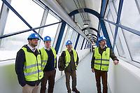 Inside HS Orka Svartsengi Plant, Reykjanes Iceland.