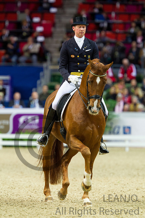 Patrik Kittel - Watermill Scandic HBC<br /> Reem Acra FEI World Cup Dressage Final 2013<br /> &copy; DigiShots