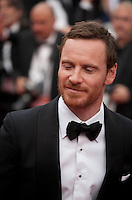 Actor Michael Fassbender at the gala screening for the film Macbeth at the 68th Cannes Film Festival, Saturday 23rd May 2015, Cannes, France.