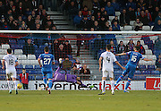 Inverness&rsquo; Greg Tansey beats Dundee keeper Scott Bain to score the equaliser from the penalty spot  - Inverness Caledonian Thistle v Dundee at Caledonian Stadium, Inverness<br /> <br />  - &copy; David Young - www.davidyoungphoto.co.uk - email: davidyoungphoto@gmail.com