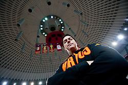 Head coach Saso Filipovski during practice session of basketball club Lottomatica Roma day before Euroleague Top 16 Round Match vs KK Union Olimpija Ljubljana, on January 19, 2011 in Arena PalaLottomatica, Rome, Italy. (Photo By Vid Ponikvar / Sportida.com)