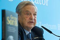 11 APR 2012, BERLIN/GERMANY:<br /> George Soros, Investor, stellt sein neues Buch vor, Projektzentrum Berlin der Stiftung Mercator<br /> IMAGE: 20120411-02-007
