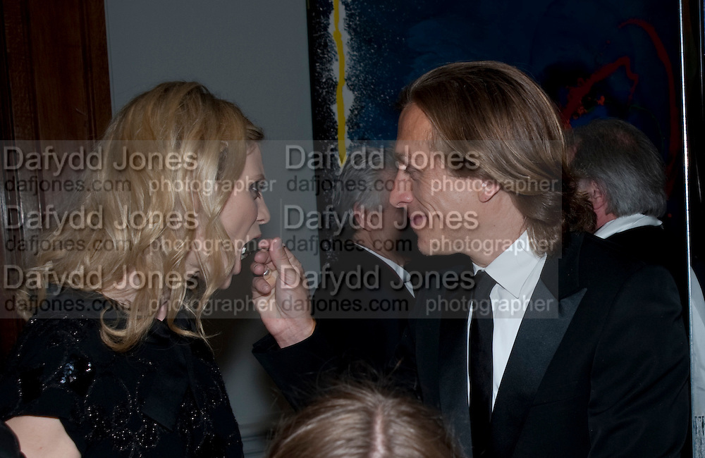 EVIE GIBSON; JEREMY GILLEY; EMILIA FOX, Royal Academy Summer Exhibition 2009 preview party. royal academy of arts. Piccadilly. London. 3 June 2009.