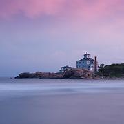 Seaside homes on Bass Rocks, Gloucester, MA, Cape Ann.