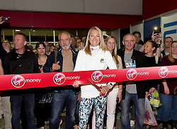 © Licensed to London News Pictures.22/04/2015<br /> LONDON UK: PAULA RADCLIFFE MBE Opens the 2015 Virgin Money London Marathon at the Excel Centre London.Photo credit : Andrew Baker/LNP