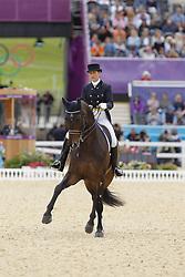 Vilhelmson Silfven, Tinne, Don Auriello<br /> London - Olympische Spiele 2012<br /> <br /> Grand Prix Special, Teamwertung<br /> © www.sportfotos-lafrentz.de/Stefan Lafrentz