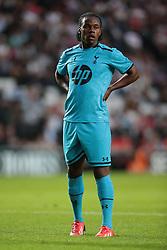 Tottenham's Shalique Coulthirst .Photo mandatory by-line: Nigel Pitts-Drake/JMP  - Tel: Mobile:07966 386802 31/07/2013 - MK Dons v  Tottenham XI  - SPORT - FOOTBALL - pre-season - Milton Keynes - Stadium MK