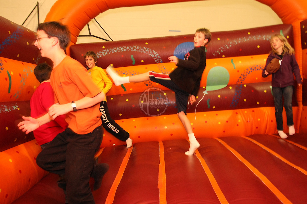Moon Bounce at HIMS Carnival Night 2010