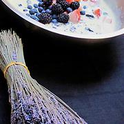 lavender berries