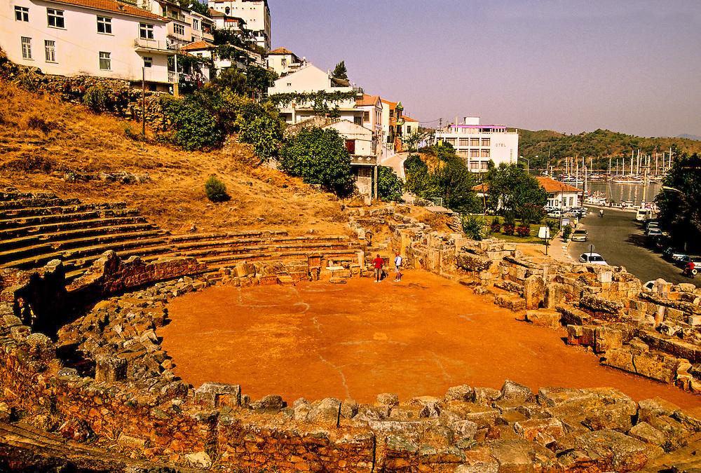 Telmessos Theater, Fethiye, Turkey