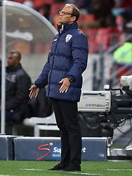 Denis Lavagne, Head Coach, of Free State Stars during the 2016 Premier Soccer League match between Chippa United and Free State Stars held at the Nelson Mandela Bay Stadium in Port Elizabeth, South Africa on the 23rd August 2016<br />