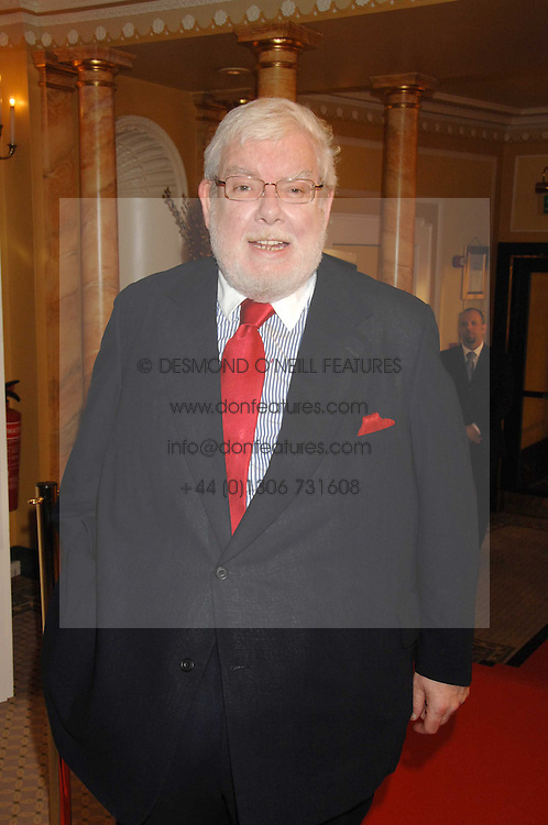 Actor RICHARD GRIFFITHS at the South Bank Show Awards held at The Dorchester, Park Lane, London on 29th January 2008.<br />