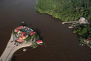 Aruwai White H2O Resort<br /> Essequibo River<br /> GUYANA<br /> South America<br /> Longest river in Guyana
