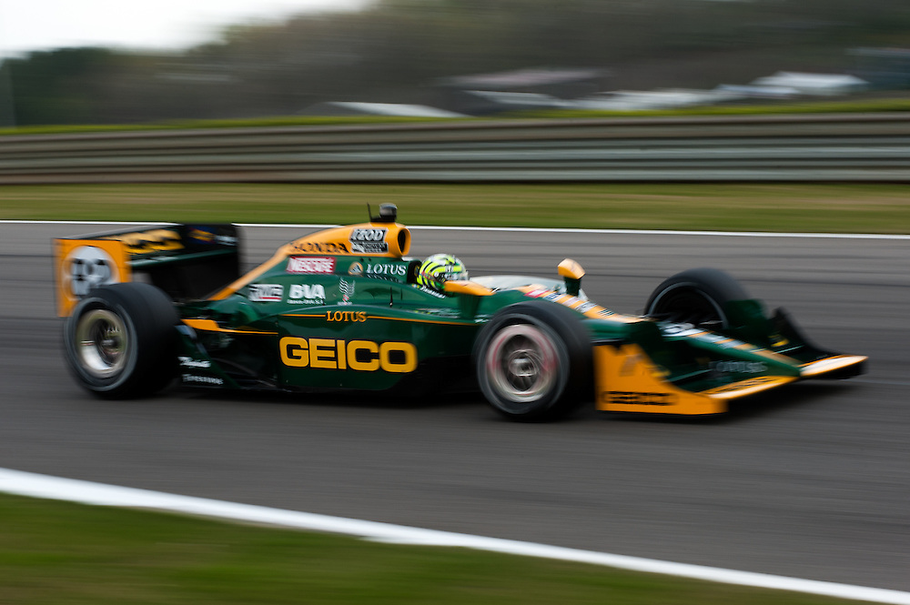 Tony Kanaan 82 KV Racing Lotus Indycar Honda Grand Prix of Alabama 2011, Barber Motosports Park  Birmingham, Alabama USA April 08-10, 2011  © MotorRacingPhoto