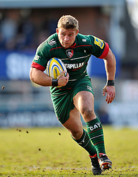Tom Youngs of Leicester Tigers - Photo mandatory by-line: Patrick Khachfe/JMP - Mobile: 07966 386802 28/03/2015 - SPORT - RUGBY UNION - Leicester - Welford Road - Leicester Tigers v Exeter Chiefs - Aviva Premiership