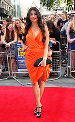 Cara Kilbey  arriving for the premiere of Keith Lemon The Film in London, Monday, 20th August 2012. Photo by: Stephen Lock / i-Images