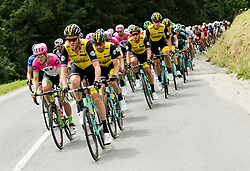 Team Lotto NL Jumbo leading the peloton during 3rd Stage of 25th Tour de Slovenie 2018 cycling race between Slovenske Konjice and Celje (175,7 km), on June 15, 2018 in  Slovenia. Photo by Vid Ponikvar / Sportida