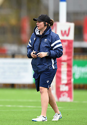 Bristol Bears Women head coach Kim Oliver looks on - Mandatory by-line: Paul Knight/JMP - 01/12/2018 - RUGBY - Shaftesbury Park - Bristol, England - Bristol Bears Women v Harlequins Ladies - Tyrrells Premier 15s