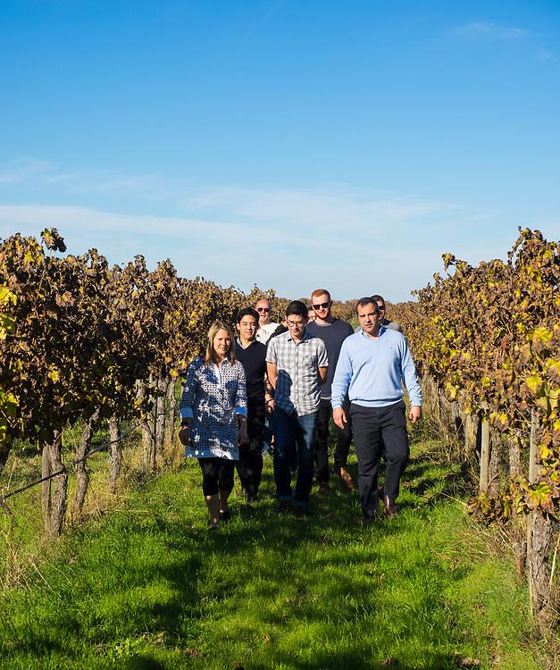 Walking the Esporão vineyards with Pedro