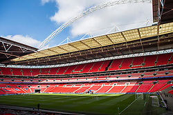 Wembley Stadium prepares for todays Checkatrade Final - Photo mandatory by-line: Jason Brown/JMP -  02/04//2017 - SPORT - Football - London - Wembley Stadium - Coventry City v Oxford United - Checkatrade Trophy Final