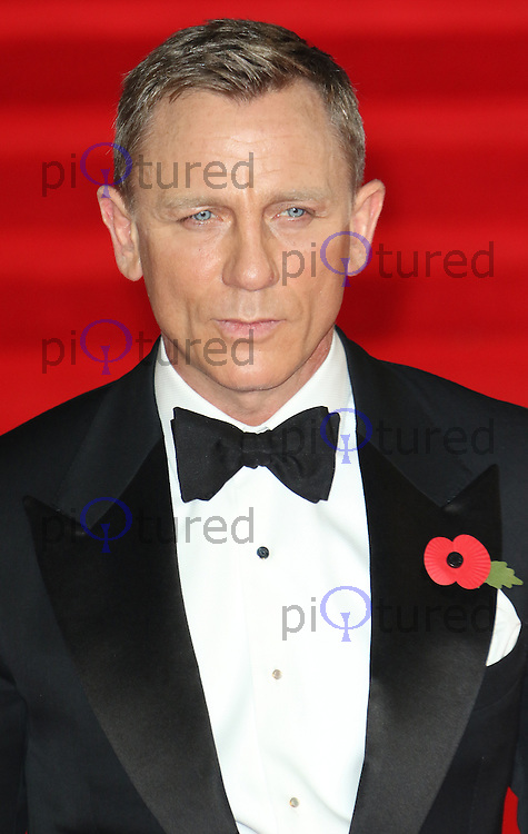 Daniel Craig, Bond: Spectre - World Premiere & Royal Film Performance, Royal Albert Hall, London UK, 26 October 2015, Photo by Richard Goldschmidt