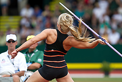 2012 USA Track & Field Olympic Trials:Brittany Borman, womens javelin