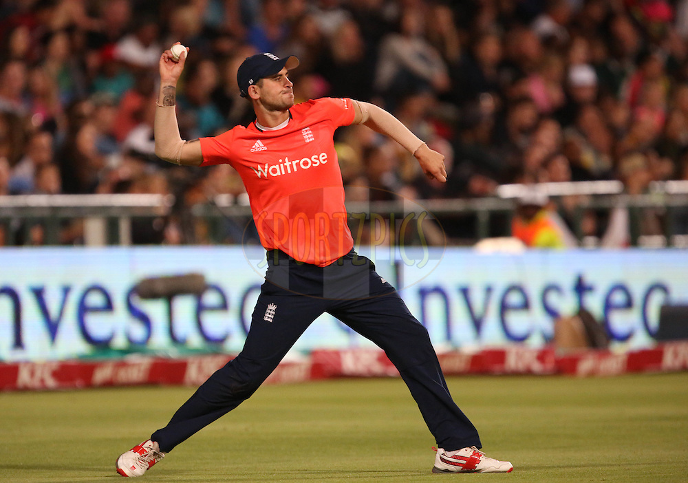 Alex Hales during the First KFC T20 Match between South Africa and England played at Newlands Stadium, Cape Town, South Africa on February 19th 2016