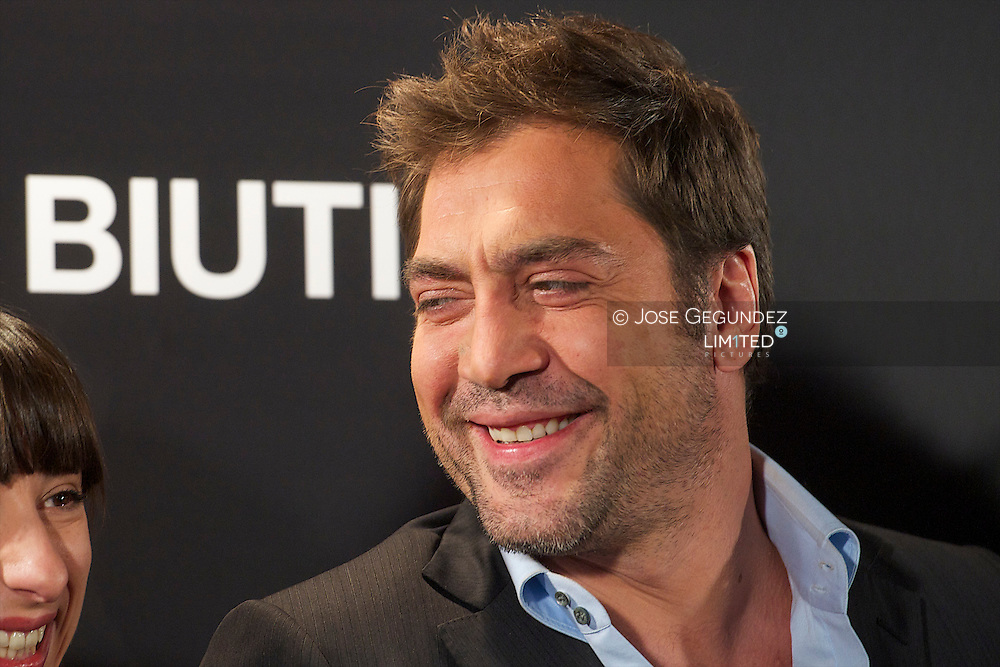 Actor Javier Bardem attends the phtotocall of 'Biutiful' at Casa de America in Madrid