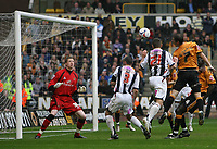 Photo: Rich Eaton.<br /> <br /> <br /> <br /> Wolverhampton Wanderers v West Bromwich Albion. Coca Cola Championship. Play off Semi Final, 1st Leg. 13/05/2007. Kevin Phillips #21 leaps to score for West Brom and make it 2-2