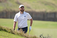 Jordan Smith (ENG) on the 9th during Round 3 of the Oman Open 2020 at the Al Mouj Golf Club, Muscat, Oman . 29/02/2020<br /> Picture: Golffile | Thos Caffrey<br /> <br /> <br /> All photo usage must carry mandatory copyright credit (© Golffile | Thos Caffrey)