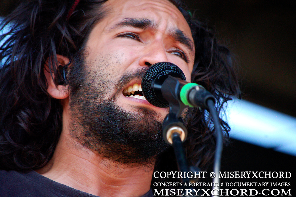 Motion City Soundtrack performing at Warped Tour in Carson, CA