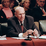 "Thomas ""Tom"" Pickering testifying at the 9/11 Commission's Public Hearing Number 8 on Tuesday, 23 March 2004."