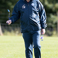 St Johnstone Training….30.09.16<br />Manager Tommy Wright pictured during training this morning<br />Picture by Graeme Hart.<br />Copyright Perthshire Picture Agency<br />Tel: 01738 623350  Mobile: 07990 594431