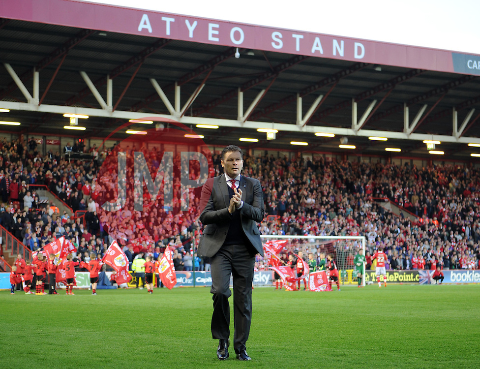 Bristol City manager Steve Cotterill ahead of the League One clash against Swindon Town - Photo mandatory by-line: Paul Knight/JMP - Mobile: 07966 386802 - 07/04/2015 - SPORT - Football - Bristol - Ashton Gate Stadium - Bristol City v Swindon Town - Sky Bet League One