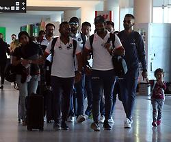 AU_1438304 - Perth, AUSTRALIA  -  The Indian cricket team seen departing Perth Airport in Perth, Western Australia<br /> <br /> Pictured: Indian cricket team<br /> <br /> BACKGRID Australia 18 DECEMBER 2018 <br /> <br /> Phone: + 61 2 8719 0598<br /> Email:  photos@backgrid.com.au