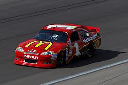 Mar 11, 2012; Las Vegas, NV, USA;  Sprint Cup Series driver Jamie McMurray (1) during the Kobalt Tools 400 at Las Vegas Motor Speedway. Mandatory Credit: Jason O. Watson-US PRESSWIRE