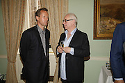 Teddy st. Aubyn and Don Boyd, Book launch of 'A Much Married Man' by Nicholas Coleridge. English Speaking Union. London. 4 May 2006. ONE TIME USE ONLY - DO NOT ARCHIVE  © Copyright Photograph by Dafydd Jones 66 Stockwell Park Rd. London SW9 0DA Tel 020 7733 0108 www.dafjones.com