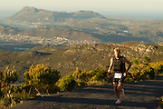 The First Ascent Mast Challenge involves a trail run through Tokai forest, ascending Constantiaberg, finishing at the radio mast. There is also a mountain bike stage and the real hard-core athletes complete both events. Images by Greg Beadle
