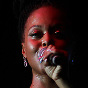 American Grammy Award-winning R&amp;B and soul singer-songwriter Chrisette Michele Performs in front of a sold out crowd at The Bob Carpenter Sports Convocation Center Friday, June 13, 2014, in Wilmington, DEL.    <br /> <br /> A Portion of the Proceeds will benefit The Non-Profit Organization Duffy's Hope Youth Programming.