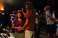 Healing moment at the village annual summer festivity. The Rainbow family was invited to participate in the annual summer festivity of the village of Salto.  European Rainbow Gathering of 2011 in Portugal