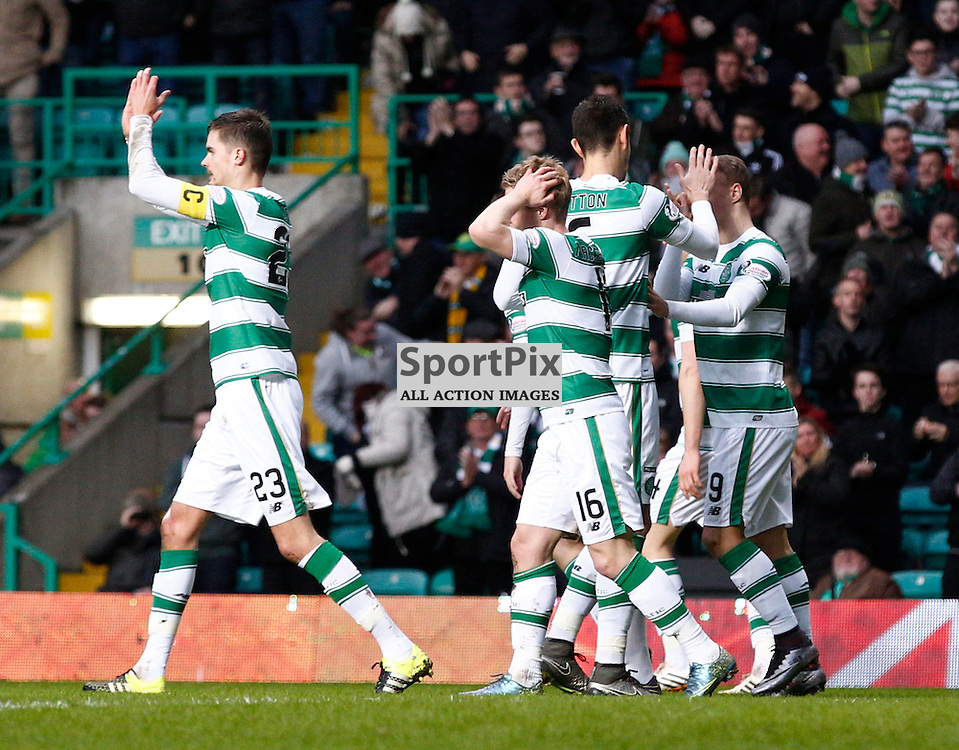 Celtic v St.Johnstone in the Ladbrokes Premiership....Gary Mackay-Steven opens the scoring for Celtic.....(c) STEPHEN LAWSON | SportPix.org.uk