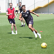 Luka Tankulic during Dundee pre-season training at GLOBALL Football Park, Budapest, Hungary<br /> <br />  - &copy; David Young - www.davidyoungphoto.co.uk - email: davidyoungphoto@gmail.com