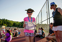 "Emily Hansen was one of the recipients of the ""Good Sportsmanship"" award during the final evening of LRTA lessons combining the towns of Laconia, Gilford, Tilton/Northfield, Franklin and Meredith at Memorial Park on Thursday evening.  (Karen Bobotas/for the Laconia Daily Sun)"