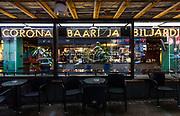 Helsinki, the Corona Baaria Bilijardo founded by the Kaurismaki brothers