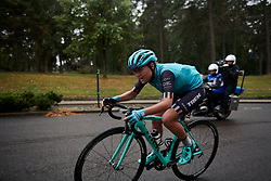 Abby-Mae Parkinson (GBR) digs deep on the final lap at Ladies Tour of Norway 2018 Stage 2, a 127.7 km road race from Fredrikstad to Sarpsborg, Norway on August 18, 2018. Photo by Sean Robinson/velofocus.com