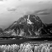 Mt. Moran, Grand Teton National Park, Wyoming.