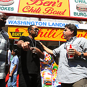 Ludacris @ Ben's Chili Bowl 4-6-10