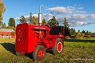 1945 Hebard A-14V Shop Mule Tractor restored by Dan Tombrink of Columbia Falls, Montana